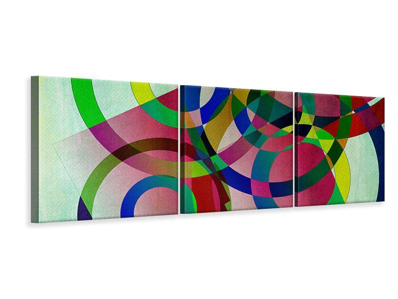Panorama Leinwandbild 3-teilig Wandkunst