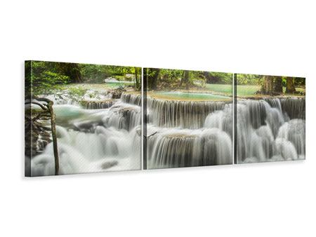 Panorama Leinwandbild 3-teilig Erawan