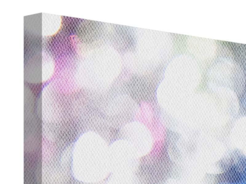 Panorama Leinwandbild 3-teilig Abstraktes Licht