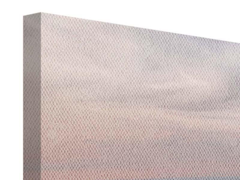 Panorama Leinwandbild 3-teilig Skyline Blick über Manhattan