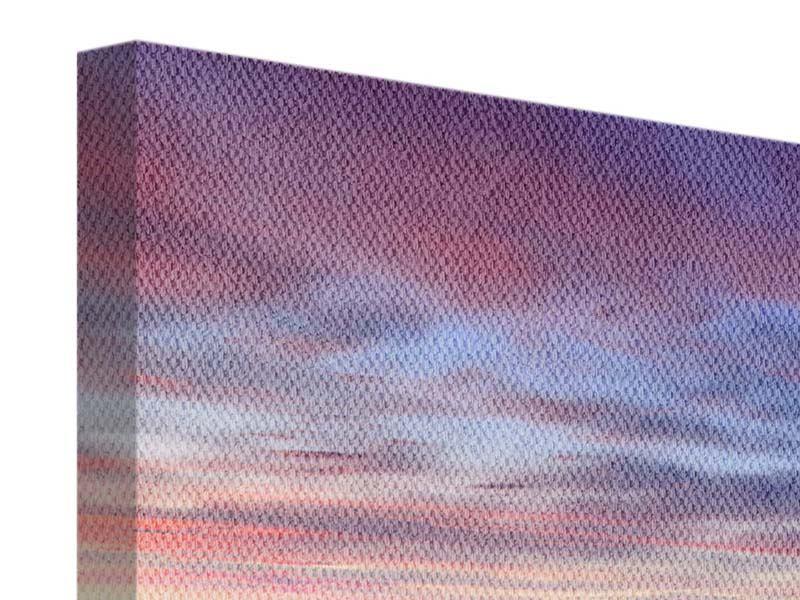 Panorama Leinwandbild 3-teilig Ano Manao Bucht
