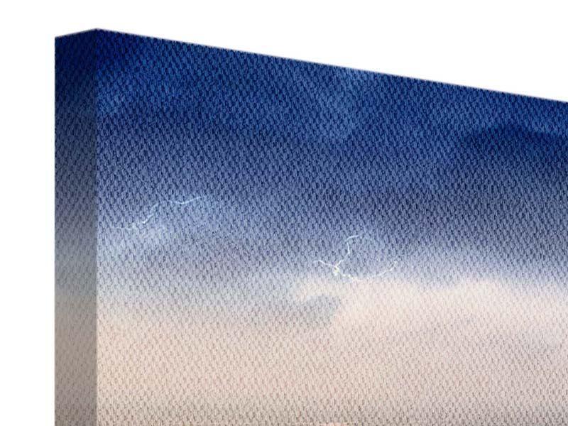 Panorama Leinwandbild 3-teilig Manhattan