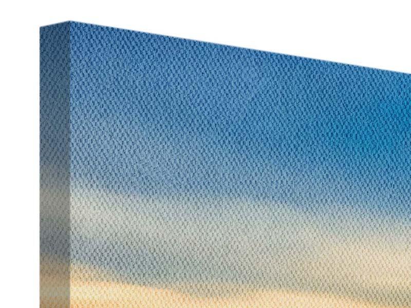 Panorama Leinwandbild 3-teilig Brücke der Liebe