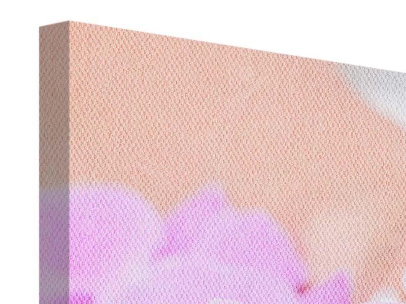 Panorama Leinwandbild 3-teilig Manikürte Hände