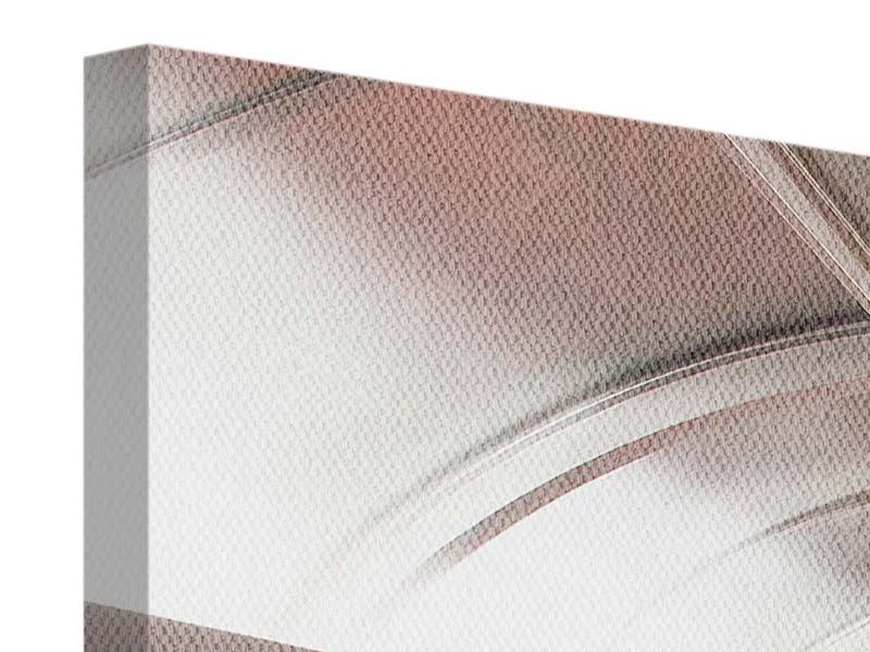 Leinwandbild 3-teilig modern Brückenfeeling