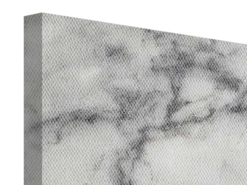 Leinwandbild 3-teilig modern Klassischer Marmor