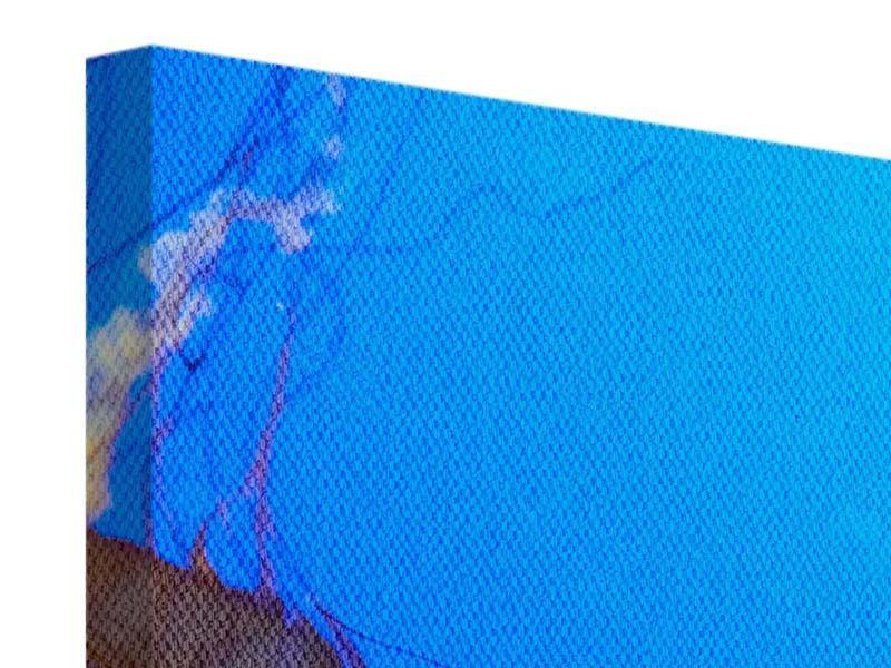 Leinwandbild 3-teilig modern Medusa