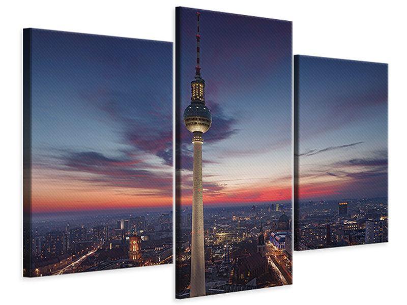 Leinwandbild 3-teilig modern Berlin