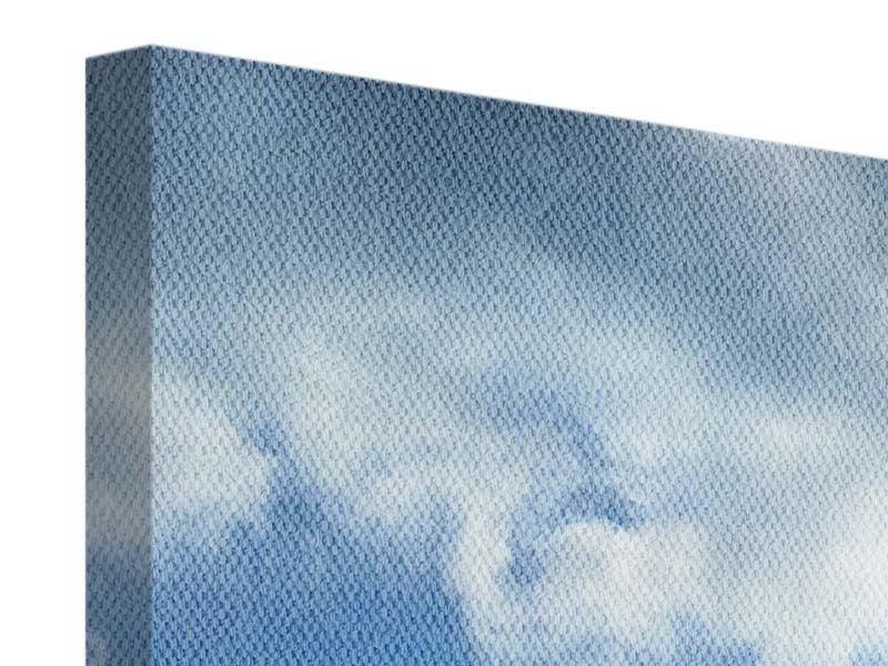 Leinwandbild 3-teilig modern Himmelshoffnung