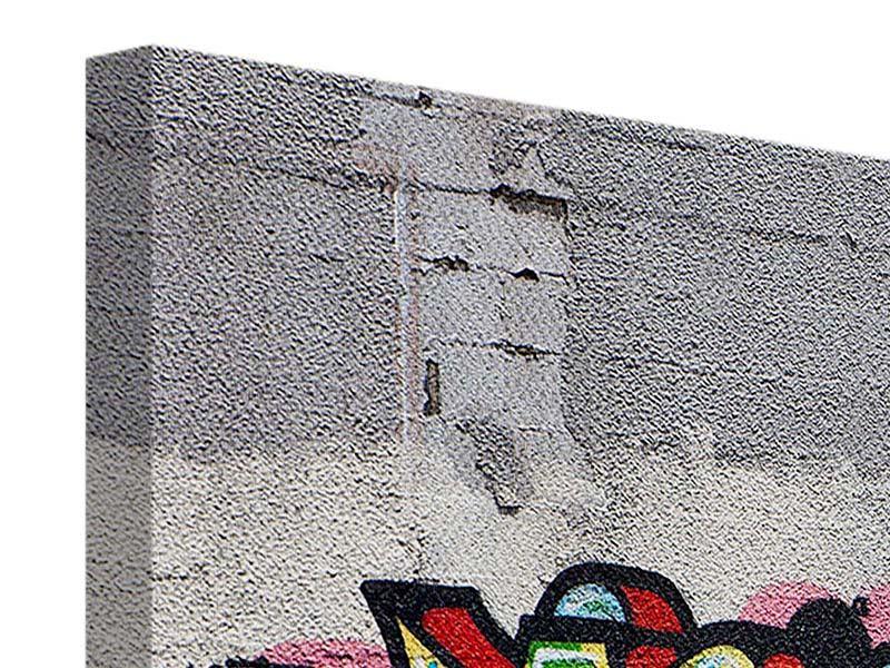 Leinwandbild 3-teilig modern Graffiti in New York
