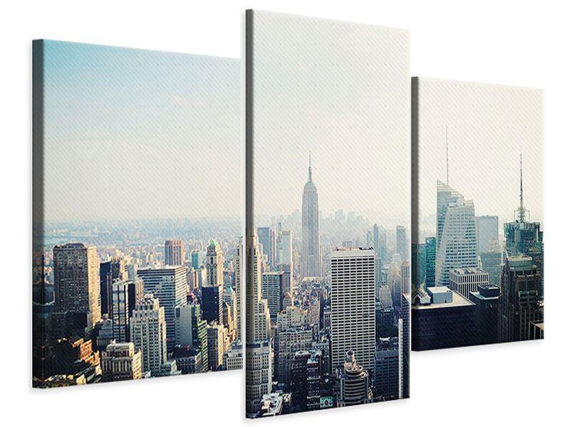 Leinwandbild 3-teilig modern NYC