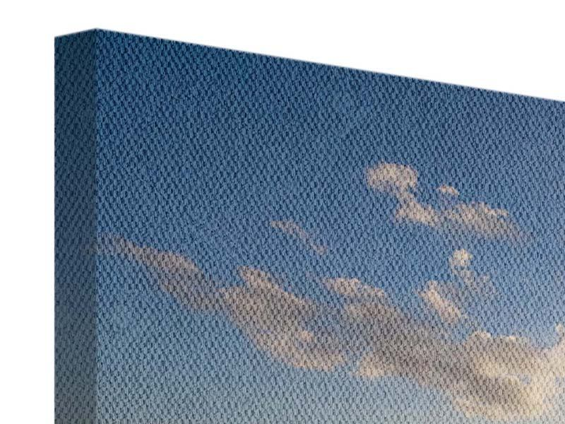 Leinwandbild 3-teilig modern Die Wellen des Meeres