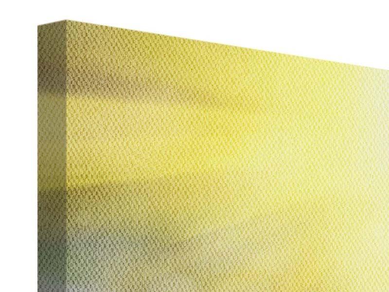 Leinwandbild 3-teilig modern Blumige Wiese