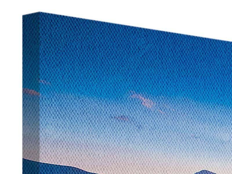 Leinwandbild 3-teilig modern Friedliche Landschaft