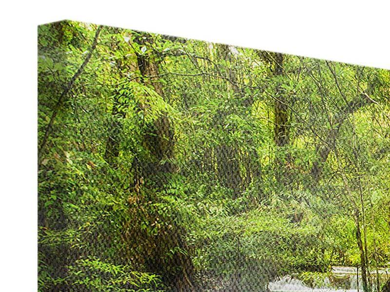 Leinwandbild 3-teilig modern Erawan