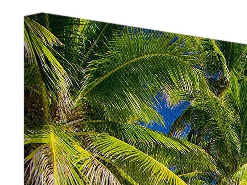 Leinwandbild 3-teilig modern Die einsame Insel