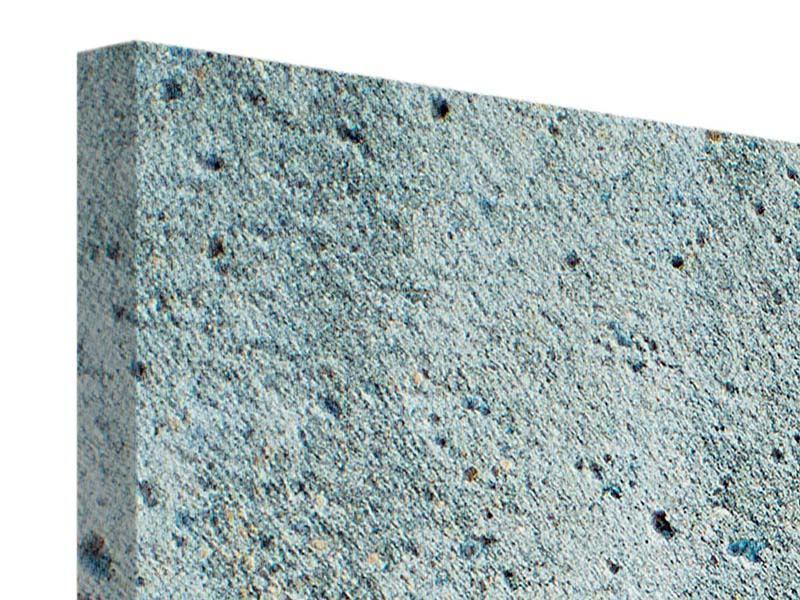Leinwandbild 3-teilig modern Beton in Grau