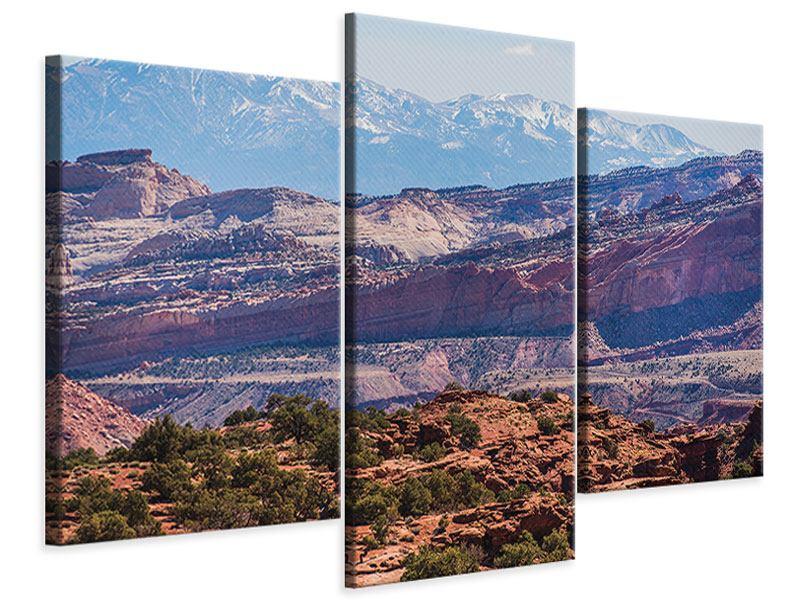 Leinwandbild 3-teilig modern Bruce-Canyon-Nationalpark