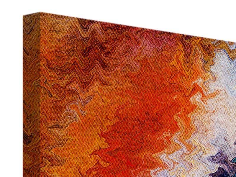 Leinwandbild 4-teilig modern Wandmalerei