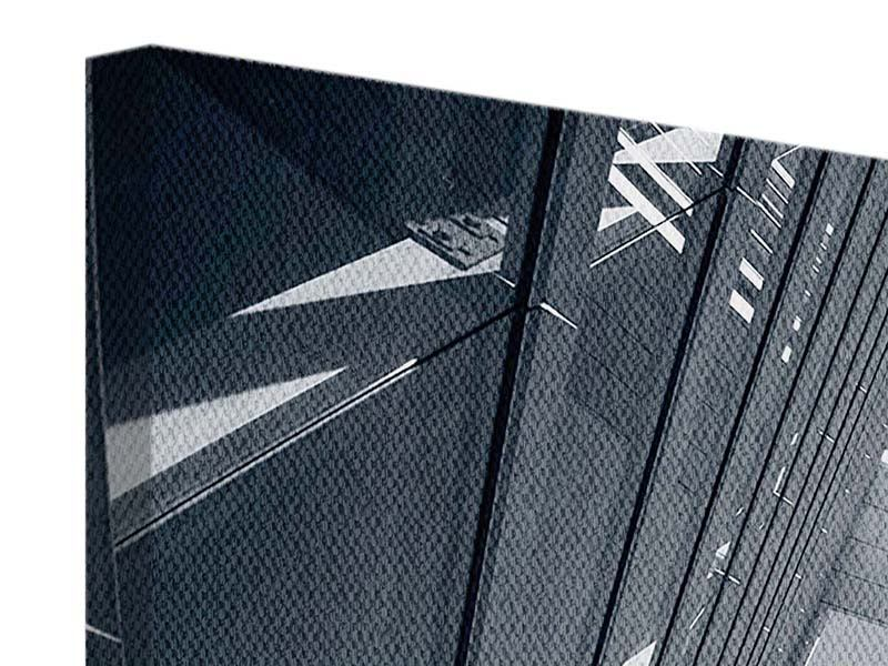 Leinwandbild 4-teilig modern Der schwarze Diamant Kopenhagens