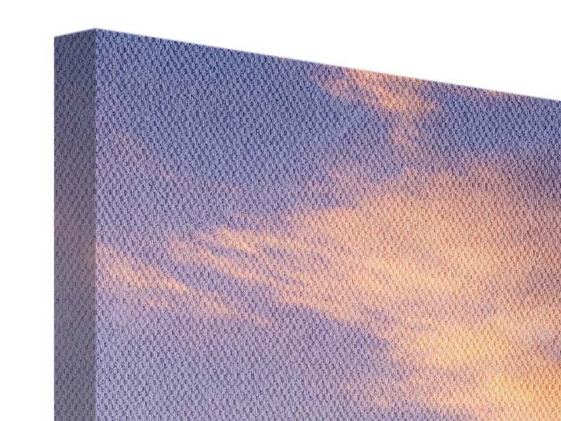 Leinwandbild 4-teilig modern Himmlisch