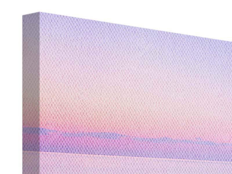 Leinwandbild 4-teilig modern Unendlicher Ozean