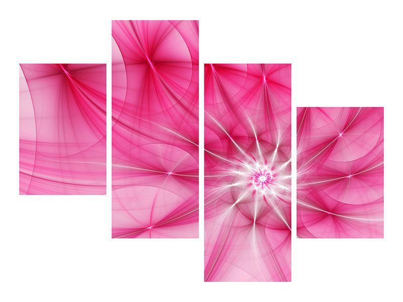 Leinwandbild 4-teilig modern Abstrakt Daylight