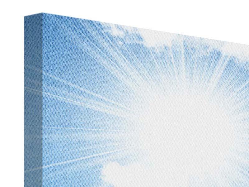 Leinwandbild 4-teilig modern Am Himmel