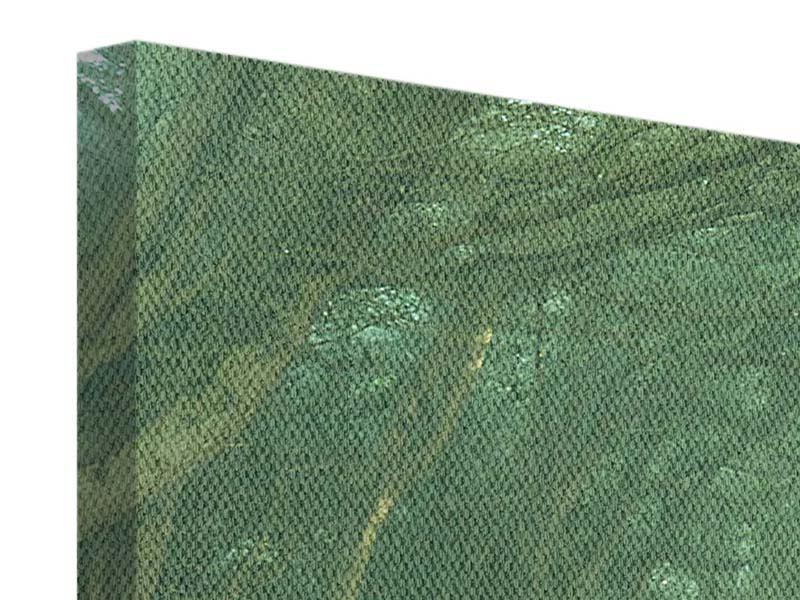 Leinwandbild 4-teilig modern Die Allee