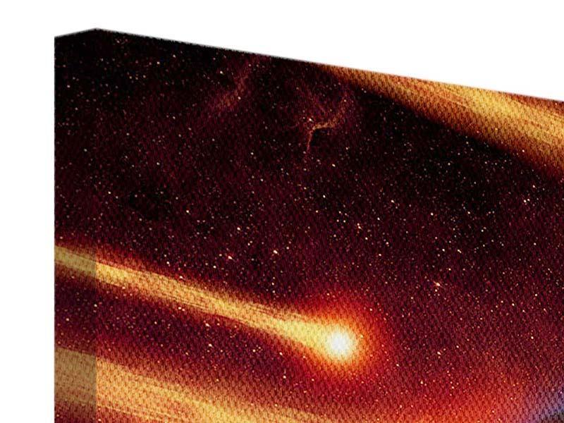 Leinwandbild 4-teilig modern Der Kosmos
