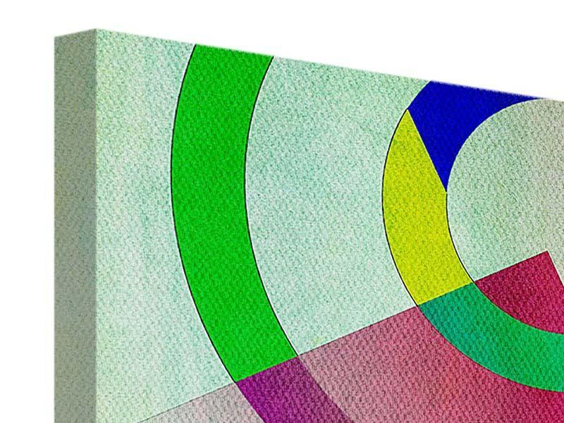 Leinwandbild 4-teilig modern Wandkunst