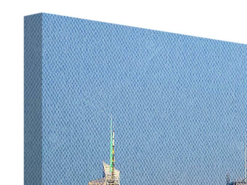 Leinwandbild 4-teilig modern Skyline Midtown Manhattan