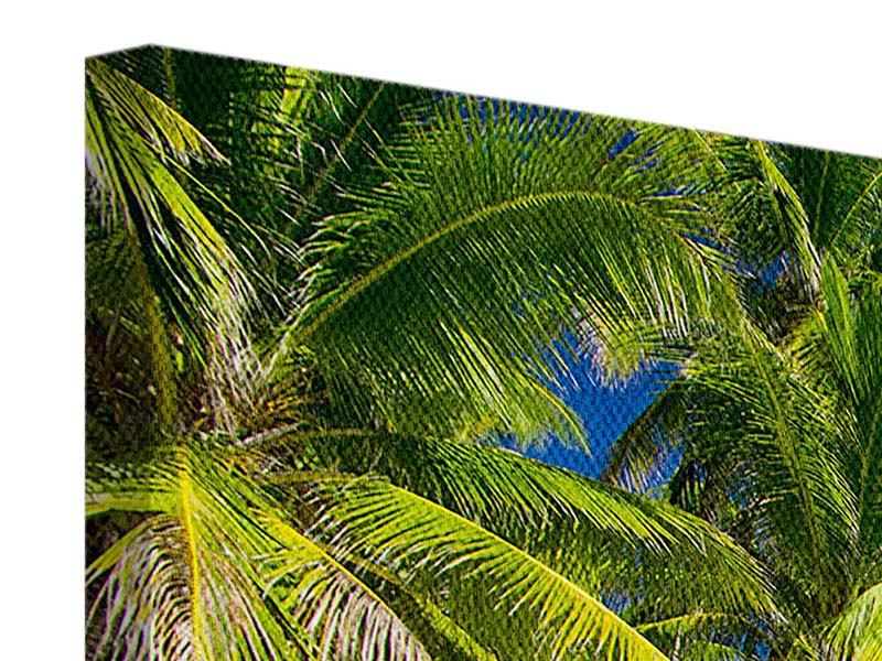 Leinwandbild 4-teilig modern Die einsame Insel