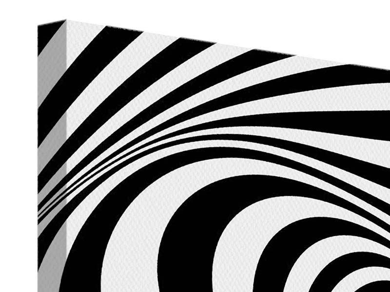 Leinwandbild 4-teilig Abstrakte Wandbewegung