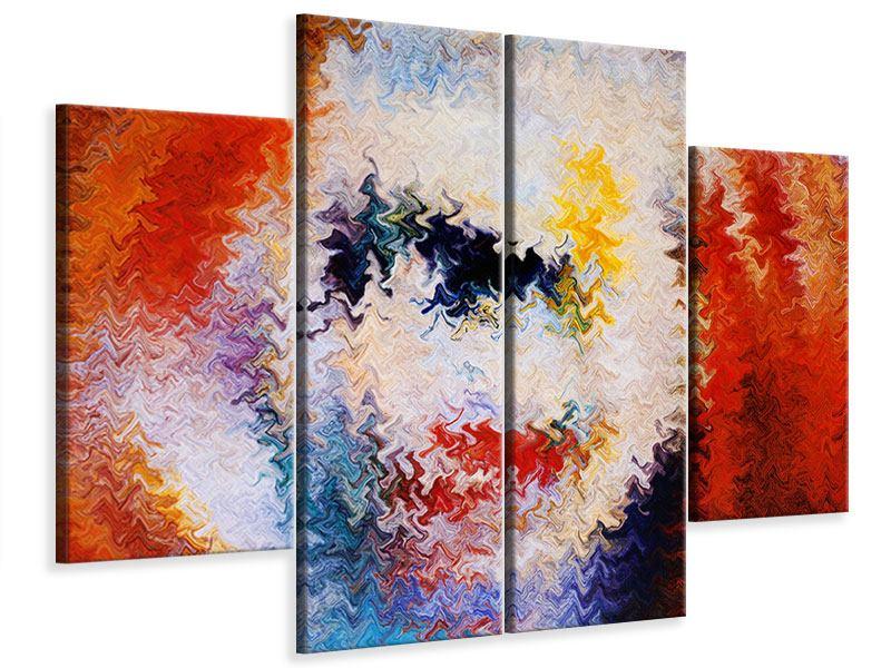 Leinwandbild 4-teilig Wandmalerei