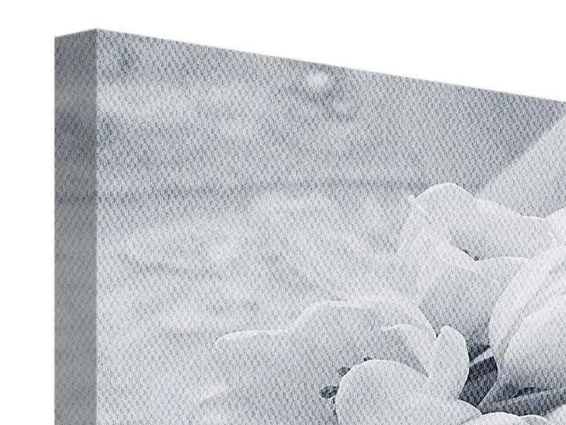 Leinwandbild 4-teilig Romantisches Tulpenbukett