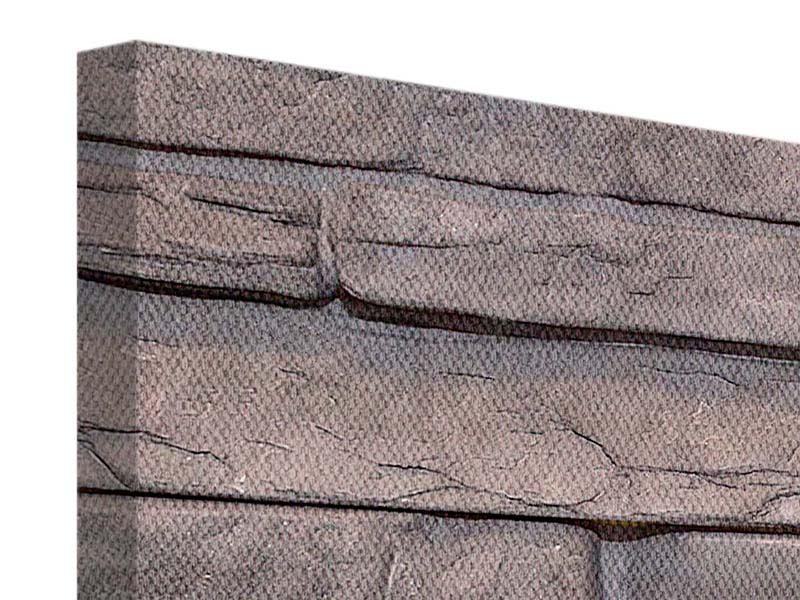 Leinwandbild 4-teilig Luxusmauer