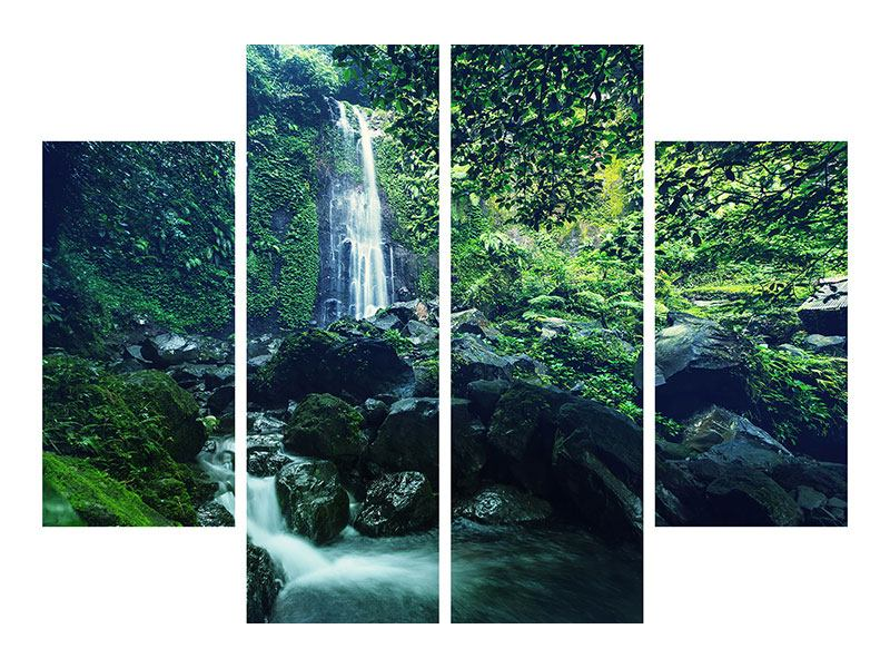 Leinwandbild 4-teilig Natur