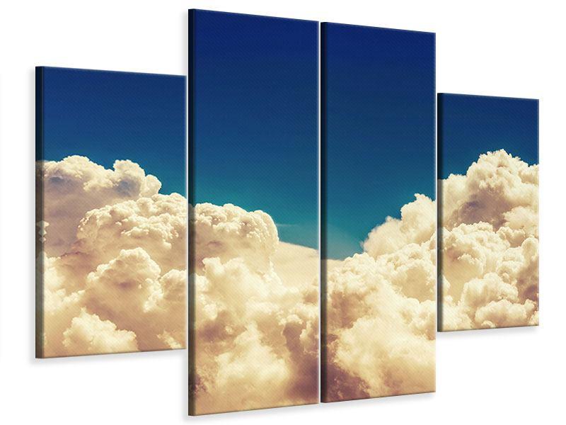 Leinwandbild 4-teilig Himmelswolken
