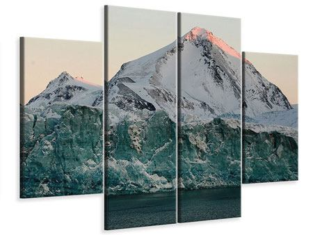 Leinwandbild 4-teilig Die Antarktis