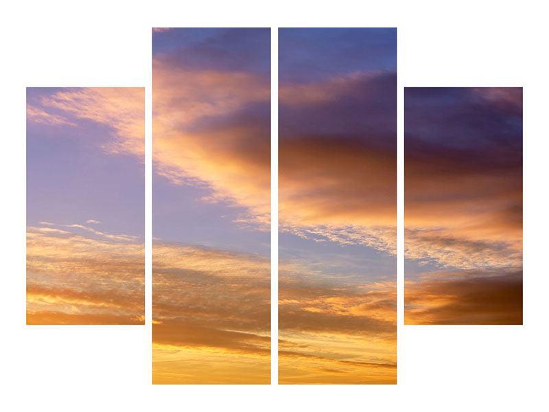 Leinwandbild 4-teilig Himmlisch