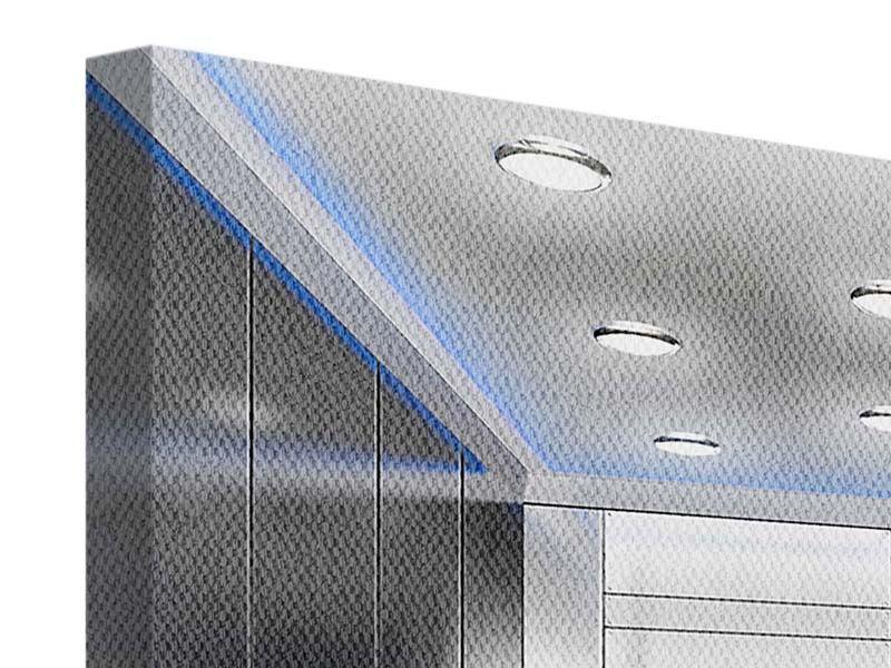 Leinwandbild 4-teilig Eleganter Aufzug