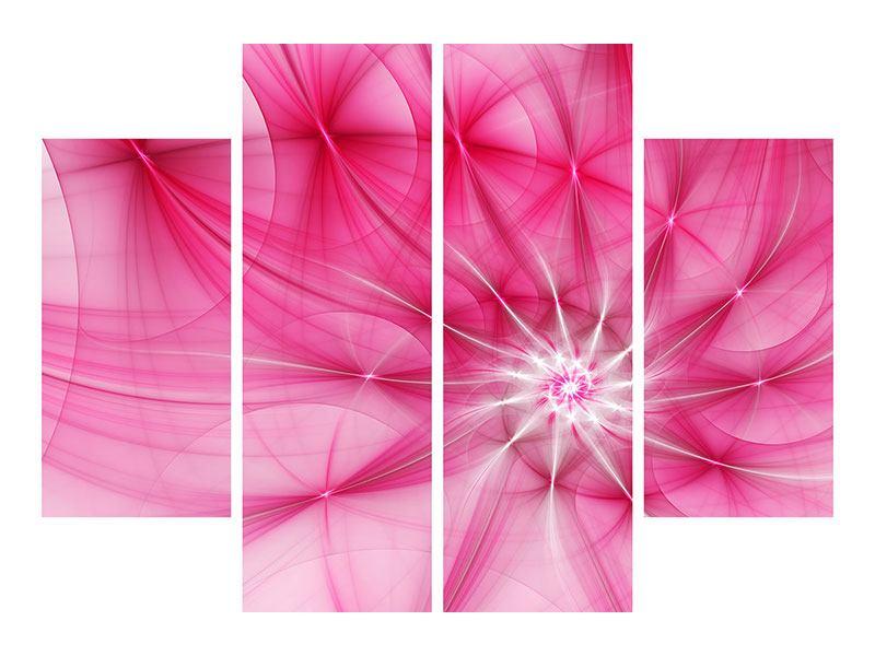 Leinwandbild 4-teilig Abstrakt Daylight