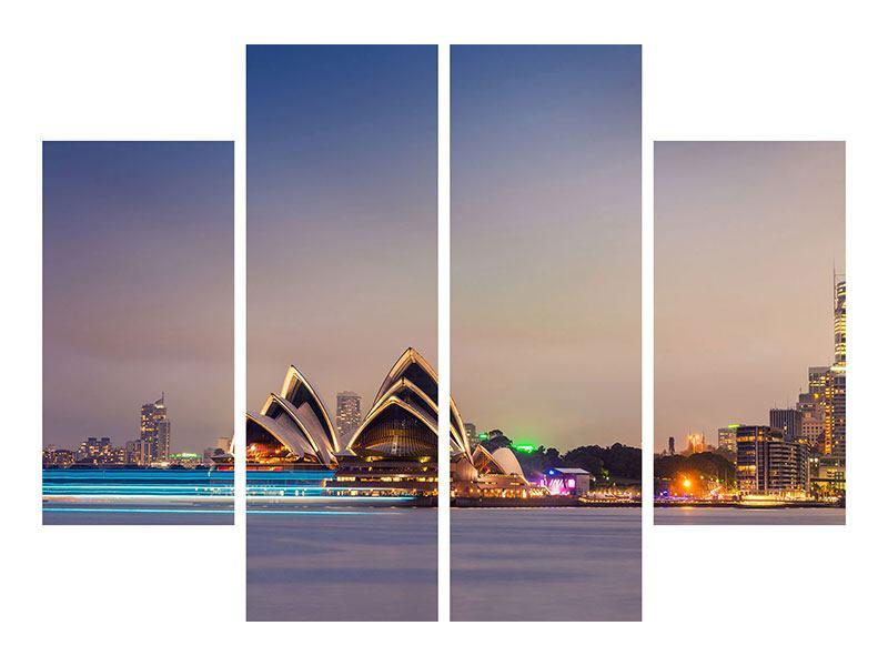 Leinwandbild 4-teilig Opera House