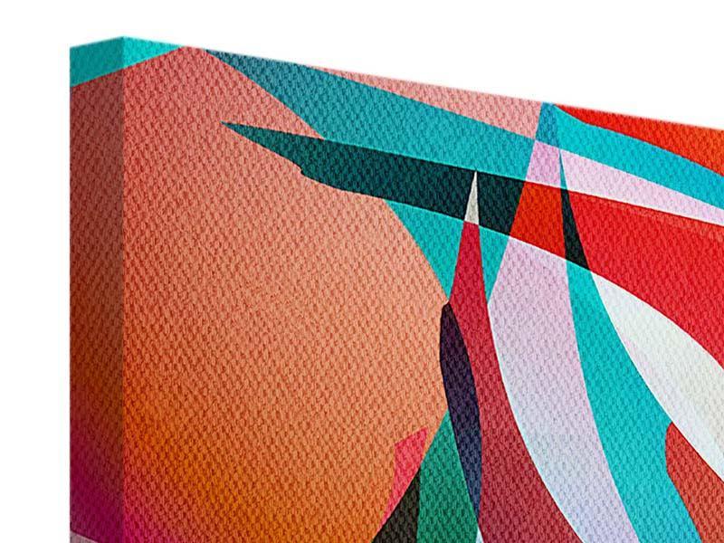 Leinwandbild 4-teilig Paint