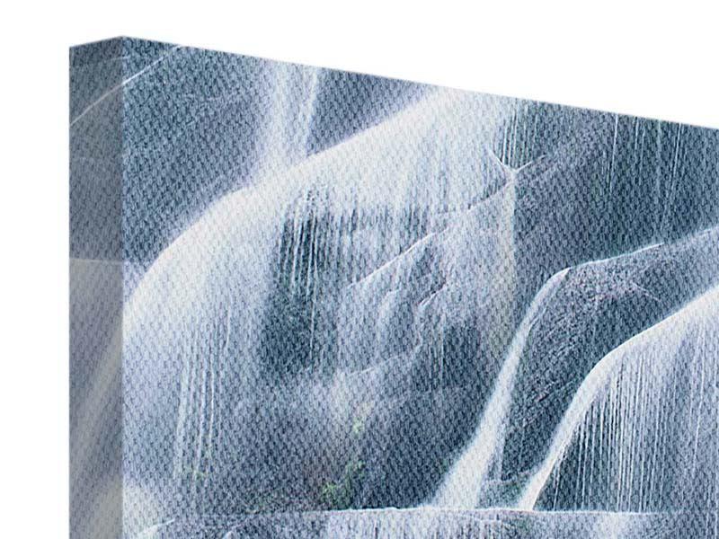 Leinwandbild 4-teilig Waterfall