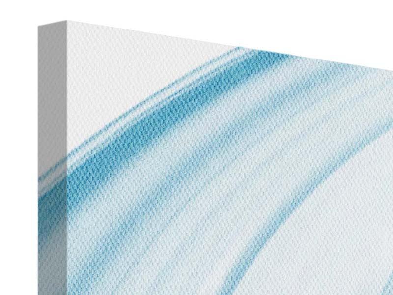 Leinwandbild 4-teilig Abstraktes Glas
