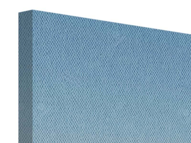 Leinwandbild 4-teilig Papierschiffchen
