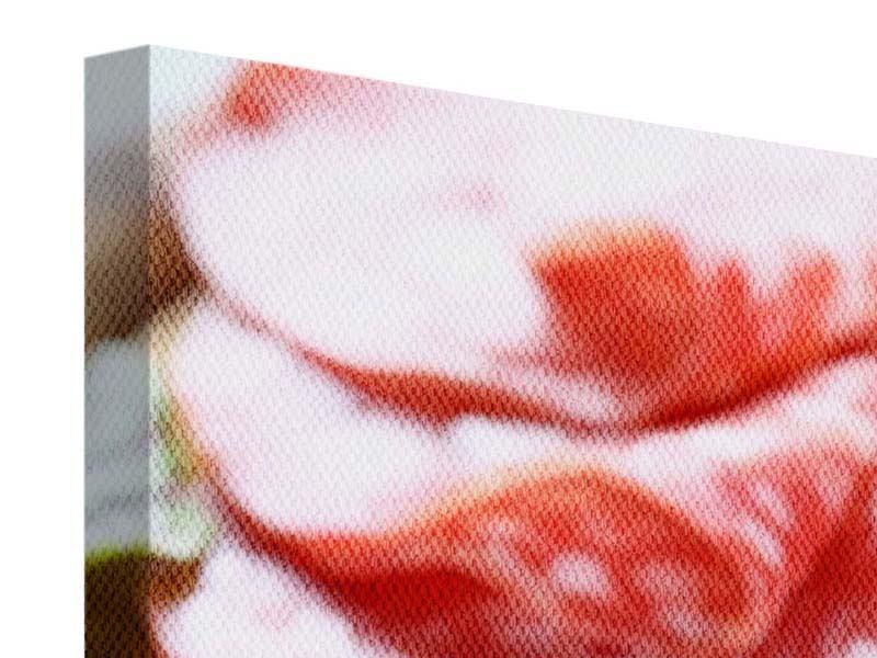 Leinwandbild 4-teilig Wurstplatte