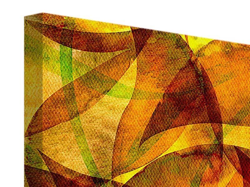 Leinwandbild 4-teilig Abstraktes Gemälde